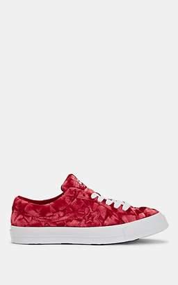 Converse Men's One Star Velvet Sneakers - Red
