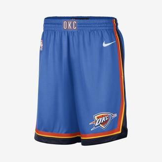 Nike Men's NBA Shorts Oklahoma City Thunder Icon Edition Swingman