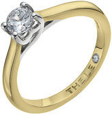 Leo Diamond 18ct yellow & white gold 0.40ct I-SI2 ring
