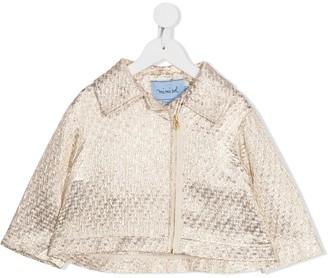 Mi Mi Sol Metallic Zipped Jacket