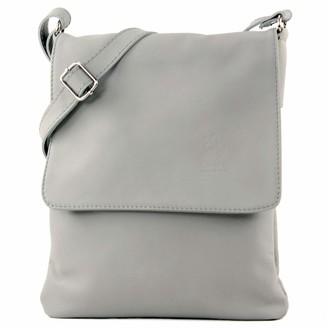 modamoda de - ital. Shoulder Messenger bag ladies bag leather T33