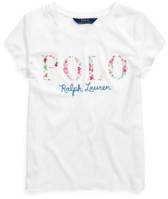 Ralph Lauren Logo Cotton Jersey Tee