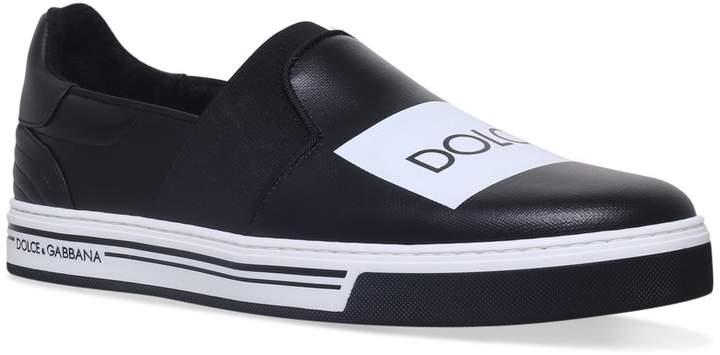Dolce & Gabbana Logo Skate Sneakers