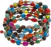Mudd Bead Coil Bracelet