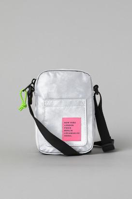 H&M Reflective Shoulder Bag - Silver