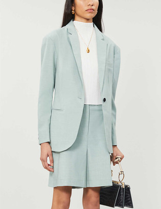 Designers Remix Marley single-breasted loose-fit woven blazer