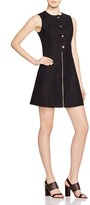 MICHAEL Michael Kors Fit and Flare Zip Dress
