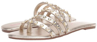 Lilly Pulitzer Tabbie Sandal (Gold Metallic) Women's Sandals
