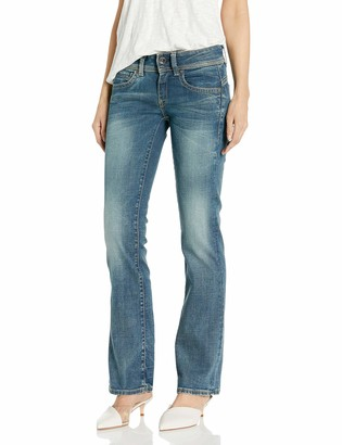 G Star Women's Midge Saddle Mid Rise Bootleg Fit Jean in Maidu Stretch