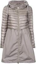 Herno zipped layered jacket