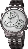 August Steiner Men's Quartz Stainless Steel Casual Watch, Color:Grey (Model: AS8210GN)