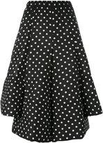 Comme des Garcons polka dot full skirt