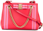 Salvatore Ferragamo lined crossbody bag - women - Calf Leather - One Size