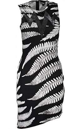 Just Cavalli Womens Zebra Fern Dress