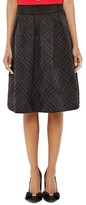 Ted Baker Mansii Checked-Texture Skirt