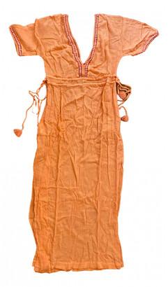 Heidi Klein Orange Cotton Dresses