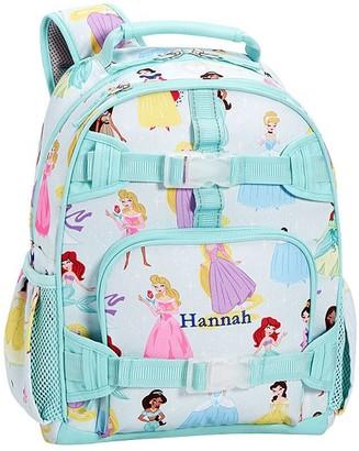 Pottery Barn Kids Small Mackenzie Aqua Disney Princess Backpack