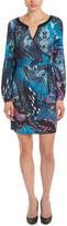 Hale Bob Print A-Line Dress