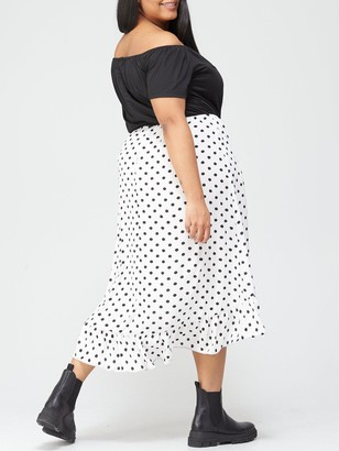 AX Paris Two In One Dress - Multi