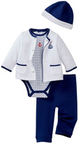 Little Me Little Waves 4-Piece Jacket Set (Baby Boys)