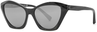 Alain Mikli Ambrette Black Cat-eye Sunglasses