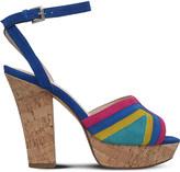 Nine West Damonica multi-coloured suede sandals
