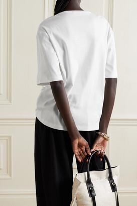 FRANCES DE LOURDES Grace Oversized Organic Cotton-jersey T-shirt - White