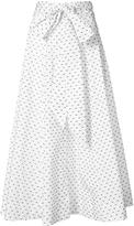 Lisa Marie Fernandez Bow Beach Skirt