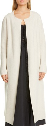 Brock Collection Belted Longline Wool & Cashmere Cardigan