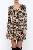 POL Printed Dress