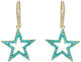 Jennifer Meyer Women's Open Star Drop Earrings