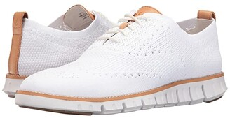 Cole Haan Zerogrand Stitchlite Oxford (Black/Ivory) Men's Plain Toe Shoes