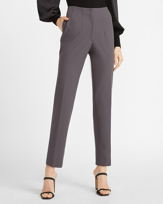 Express High Waisted Supersoft Pull-On Ankle Pant