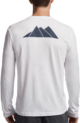 James Perse Aspen Mountains Graphic Crew
