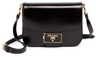 Prada Ensemble Leather Crossbody Bag