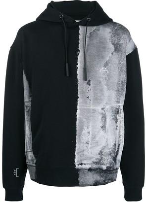 A-Cold-Wall* Smeared Print Hooded Sweatshirt