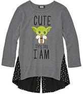 Star Wars STARWARS Graphic T-Shirt-Big Kid Girls