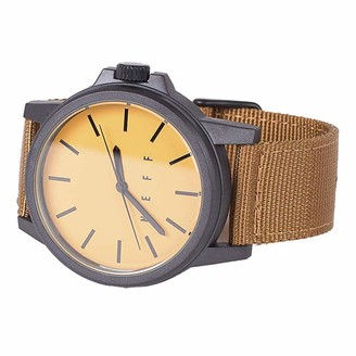 Neff Unisex-Adult's Carbine Analog Watch with Woven Band Mens