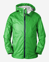 Eddie Bauer Boys' Cloud Cap Rain Jacket