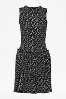 French Connection Mini Valentine Brushstrokes Dress