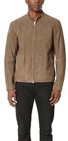 Theory Men's Arvid Cached Suede Jacket
