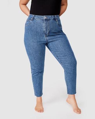 Cotton On Curve Curve Taylor Mom Jeans
