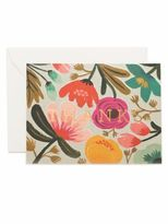 Rifle Paper Co. Eight-Pack Gold Floral Thank You Note Set