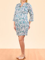 A Pea in the Pod Pleated Maternity Swim Cover-up