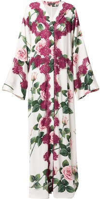 Dolce & Gabbana Tropical Rose Abaya