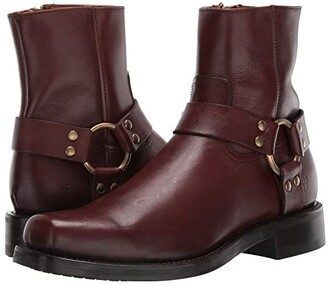 Frye Conway Harness (Brown) Men's Boots