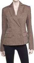 Max Studio Herringbone Linen Jacket