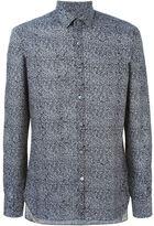 Lanvin abstract print shirt - men - Cotton - 40