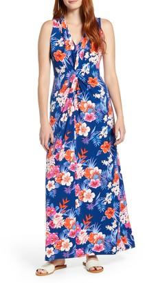Tommy Bahama Mira Dora Floral Sleeveless Maxi Dress