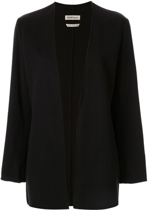 Hermes Pre-Owned Cashmere Open Front Jacket